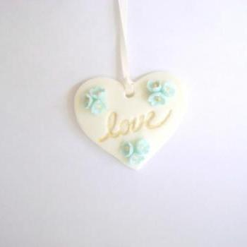 Wedding Favor Tag. Love Tag. Heart Tag. Set of 10. Made -to- Order
